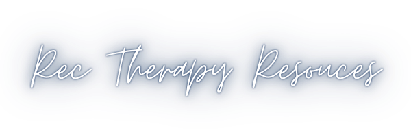 RecTherapy Resources